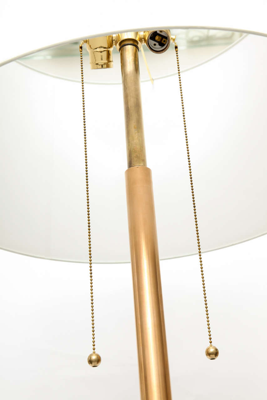 1960s Modernist Architectural Floor Lamp For Sale 4