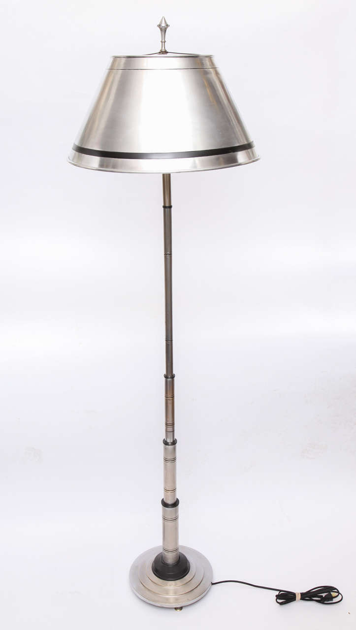 1930s american modernist floor lamp for sale at 1stdibs for 1930s floor lamps