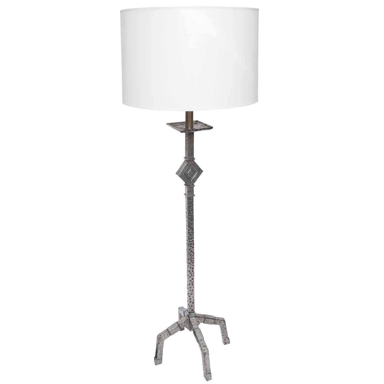 1930s Modernist Floor Lamp For Sale