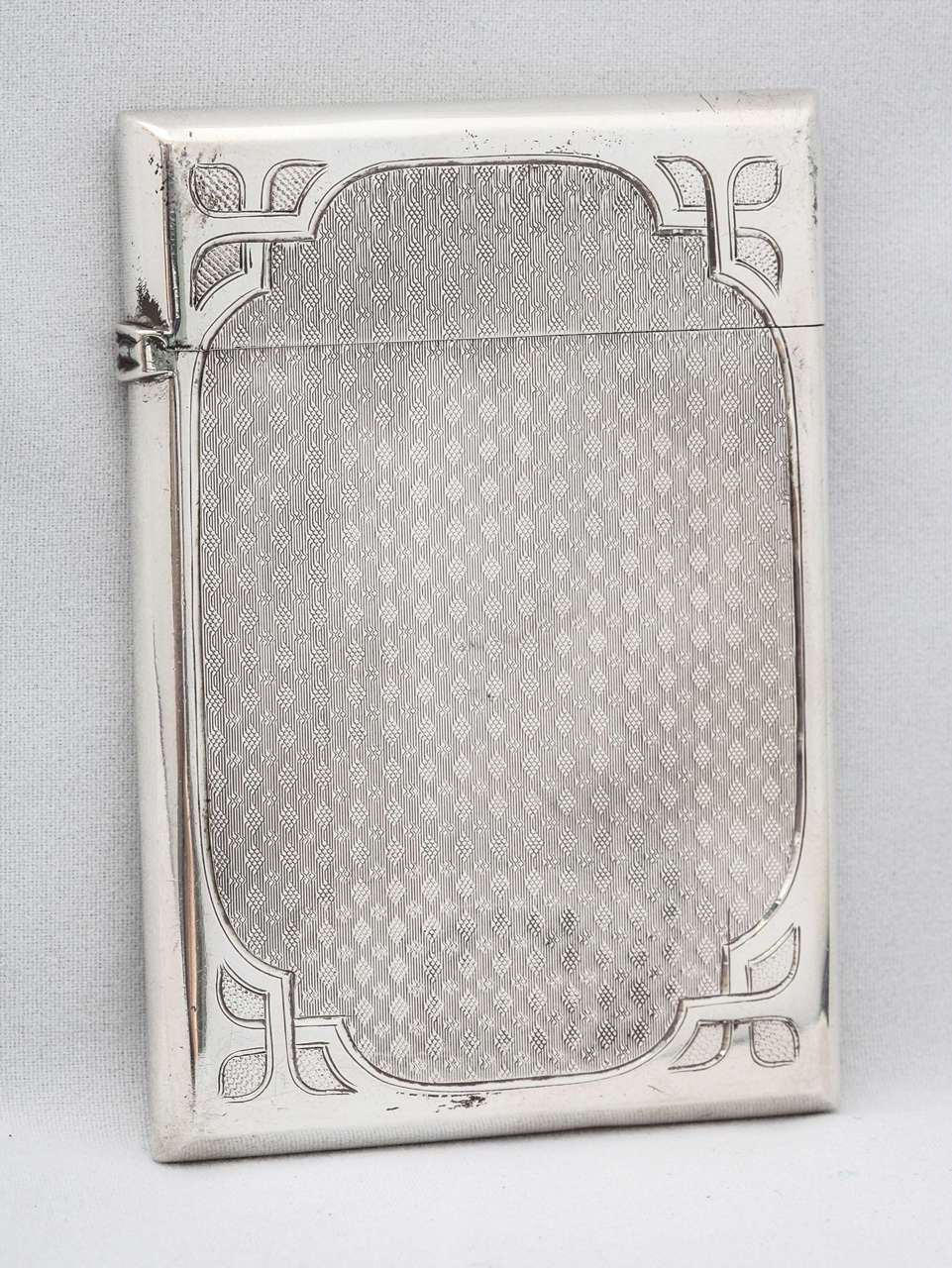 American Coin Silver Calling Card Case In Excellent Condition For Sale In New York, NY