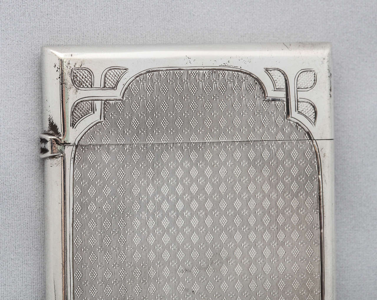 American Coin Silver Calling Card Case For Sale 2