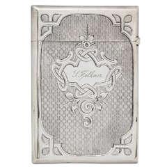 Amerikanische Münze Silberne Kartenhülle