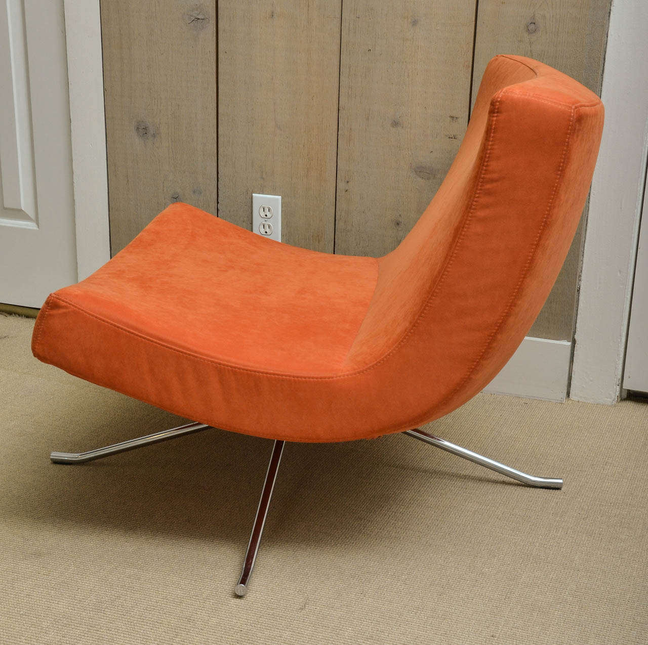 Pair of Vintage Swivel Lounge Chairs by Christian Werner for Ligne Roset 3