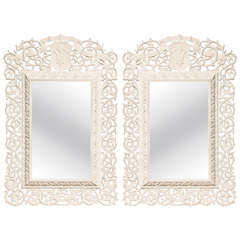 Pair of 19th Century English Mirrors