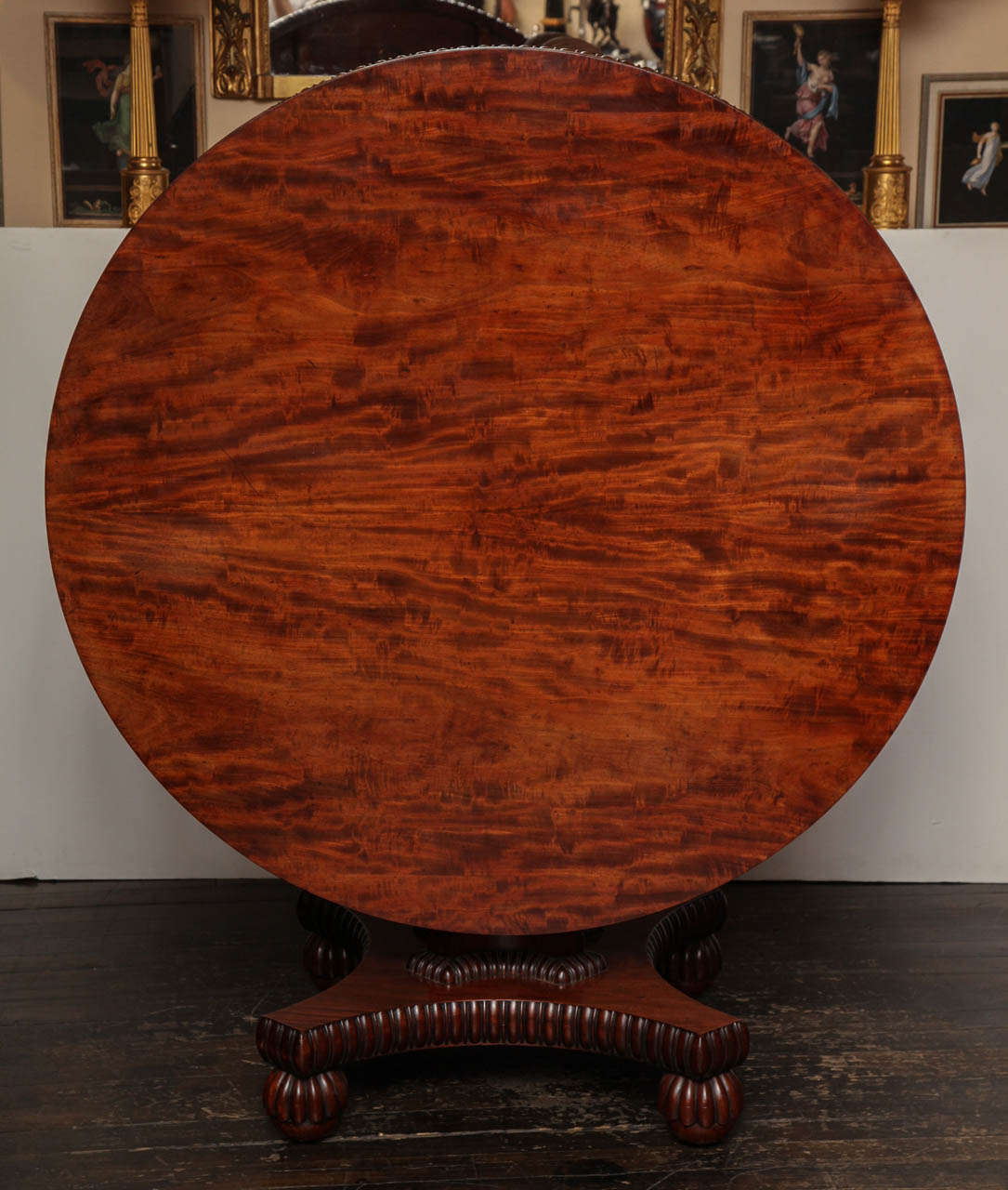 Exceptional george iv center table at 1stdibs for 123 william street 19th floor new york ny 10038