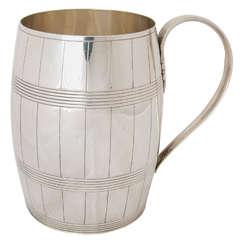 Antique English Silver Mug