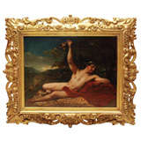 Bacchus 19th C Painting