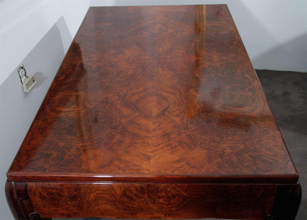 20th Century Pierre-Paul Montagnac, Art Deco Table, France, 1926 For Sale