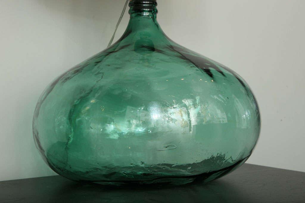 hand blown glass bubble table lamp 4 bubble hand blown glass