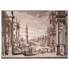 Gigantography Depicting Venice