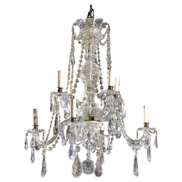 Beautiful English Chandelier At 1stdibs
