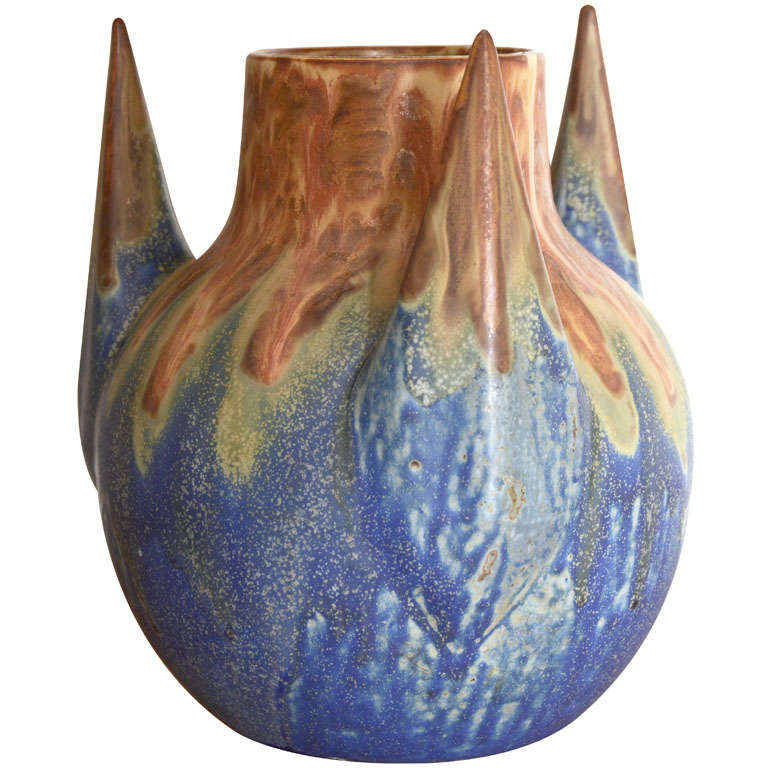 Three Pronged Vase by Gilbert Metenier