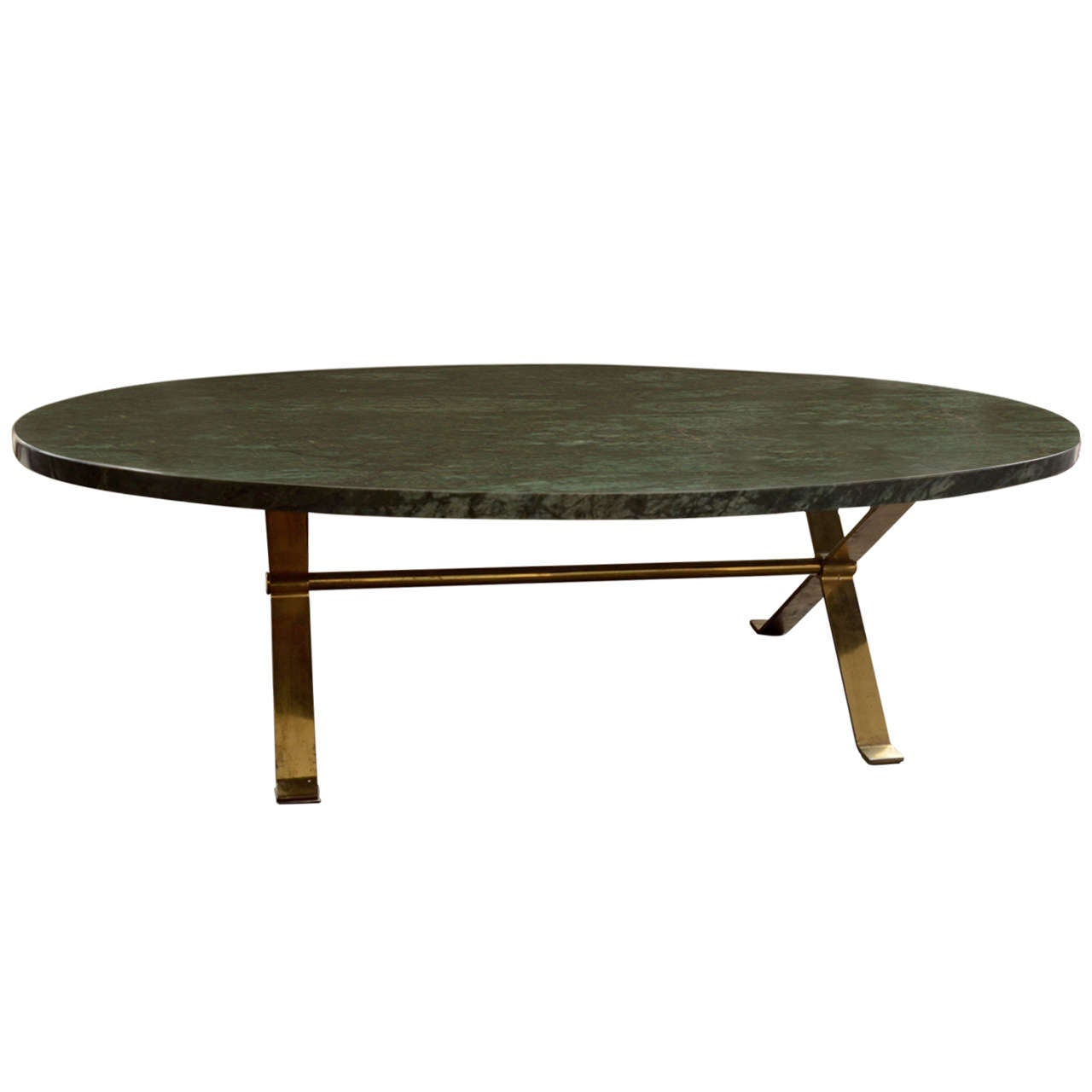Oval Marble Coffee Table At 1stdibs