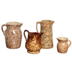 Collection of Four American Jugs