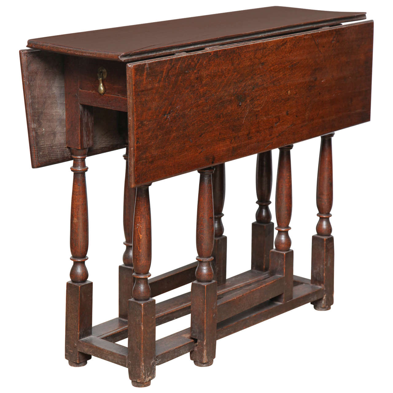 English early 18th century oak gate leg table at 1stdibs for Gatehouse furniture