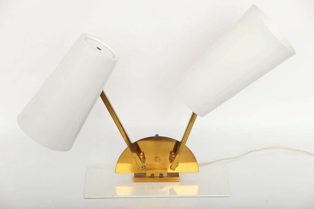 1950s Italian Articulated Table Lamp In Excellent Condition For Sale In New York, NY