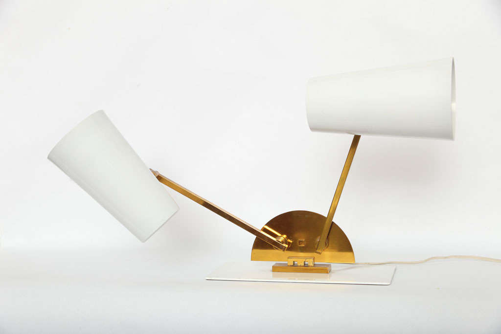 1950s Italian Articulated Table Lamp For Sale 1
