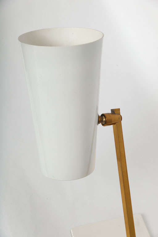 1950s Italian Articulated Table Lamp For Sale 3