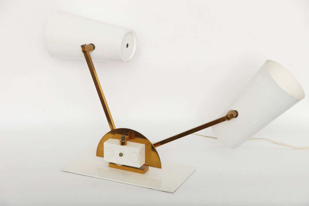 1950s Italian Articulated Table Lamp For Sale 5