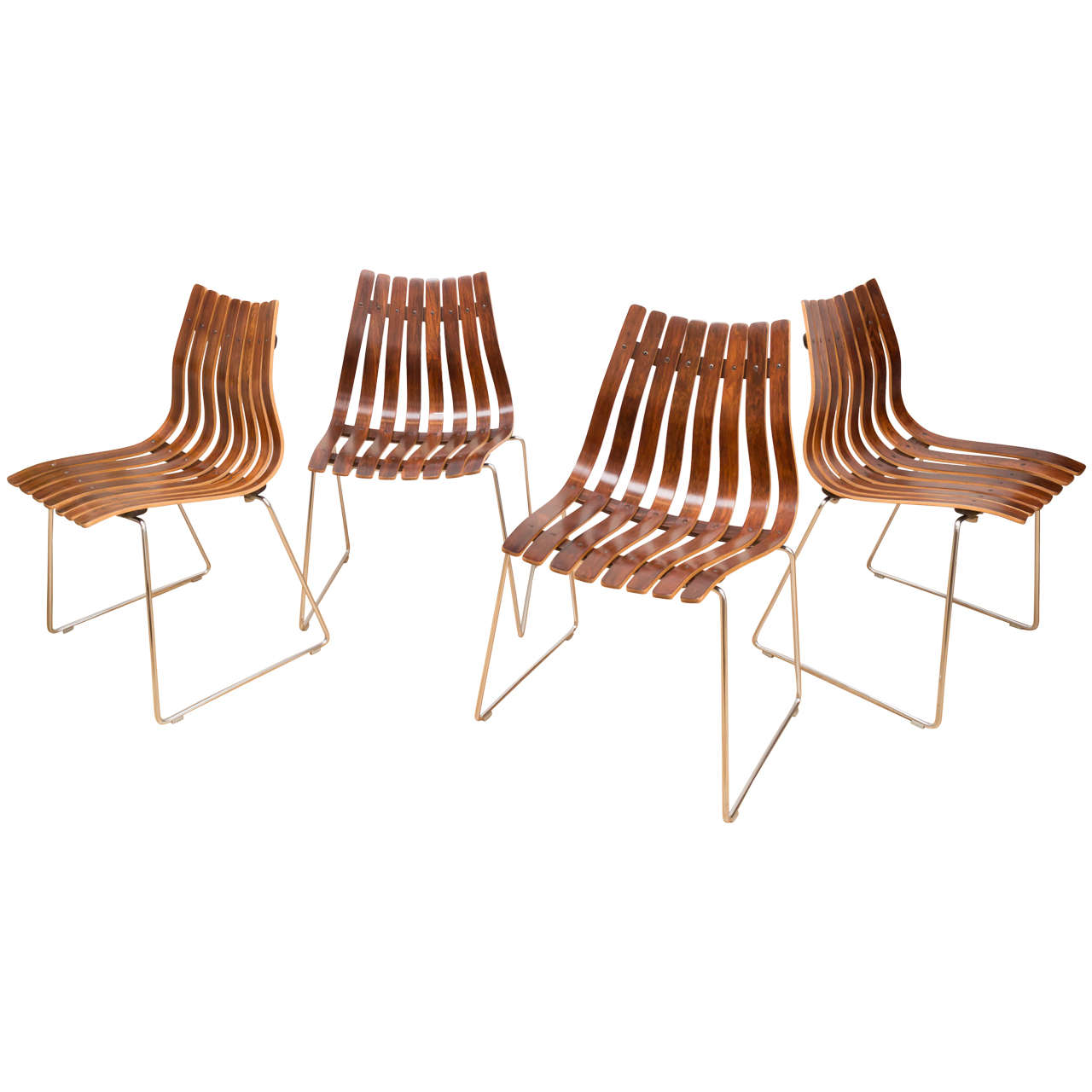 Hans Brattrud Dining Room Chairs 7 For Sale at 1stdibs