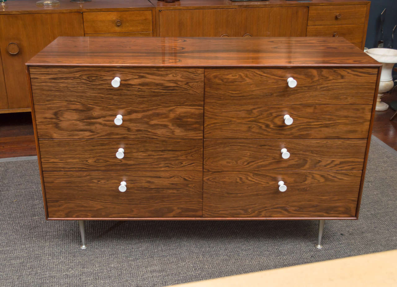 George Nelson Rosewood Thin Edge Dresser 2