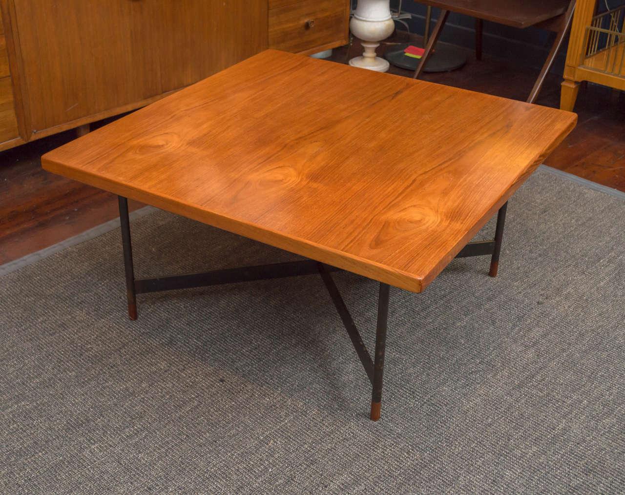 Rare Finn Juhl Coffee Table In Good Condition For Sale In San Francisco, CA
