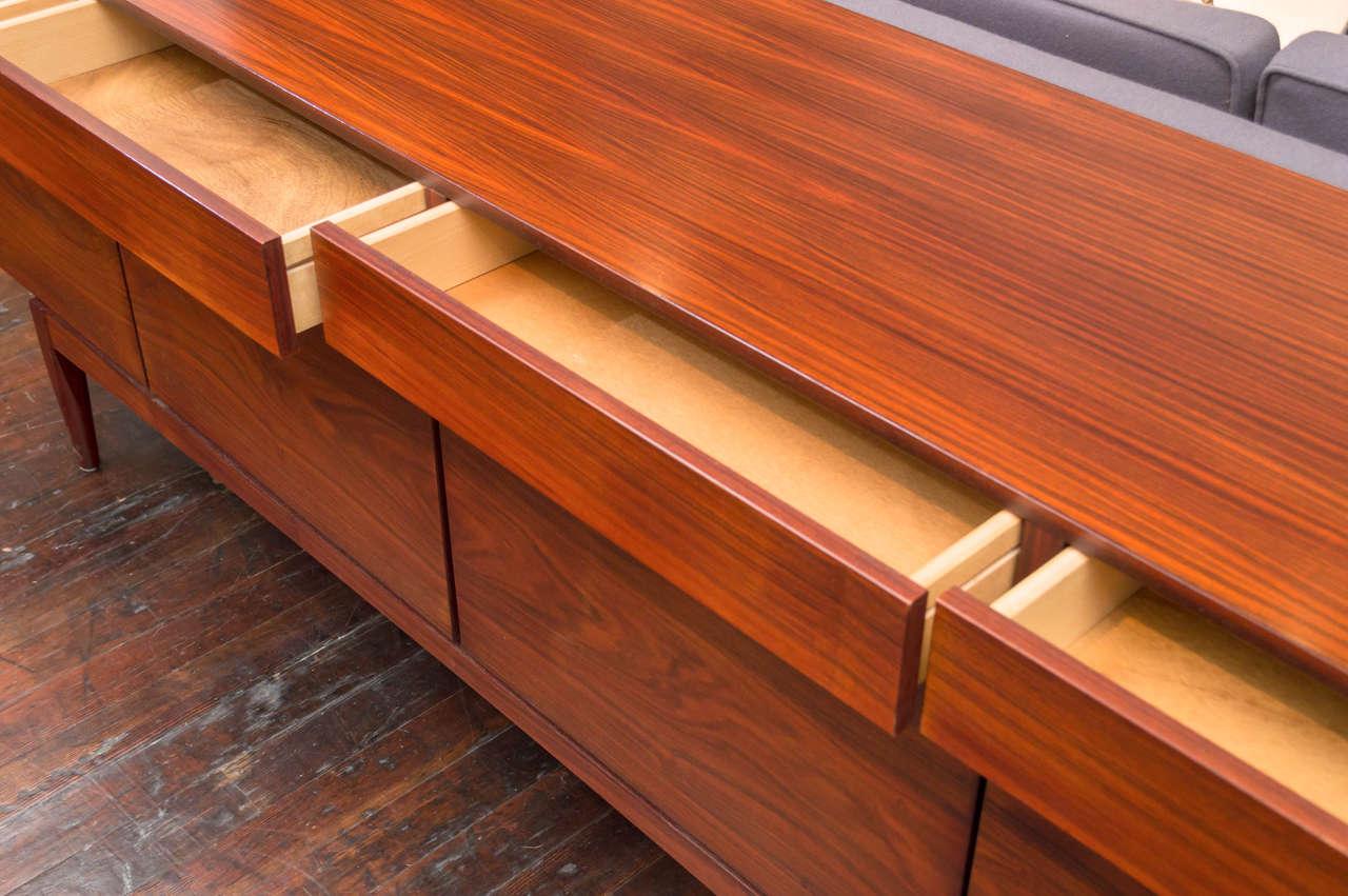 Mid-Century Modern Ib Kofod-Larsen Rosewood Credenza For Sale