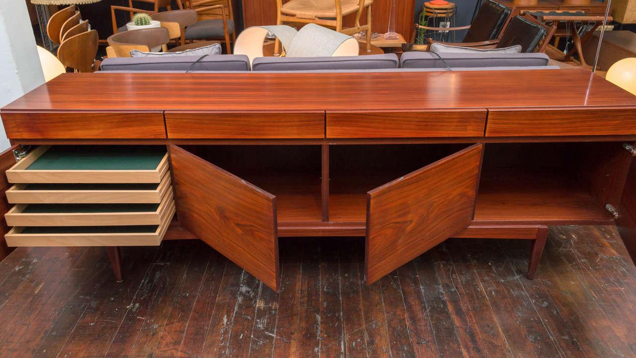 Danish Ib Kofod-Larsen Rosewood Credenza For Sale