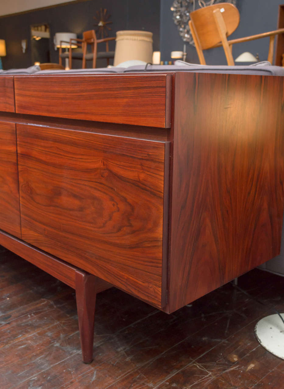 Late 20th Century Ib Kofod-Larsen Rosewood Credenza For Sale