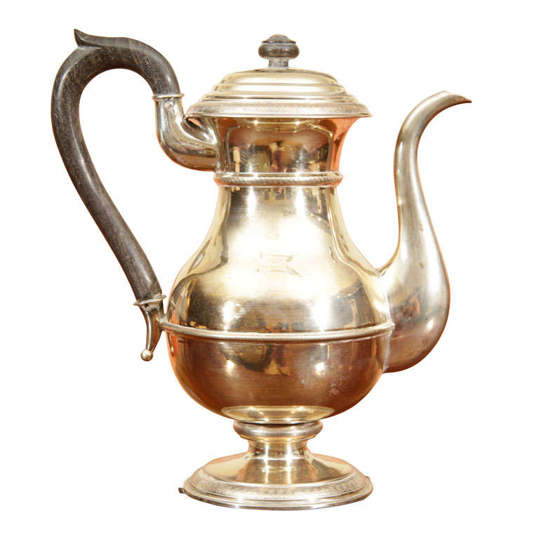 Hungarian Silver Tea Pot At 1stdibs