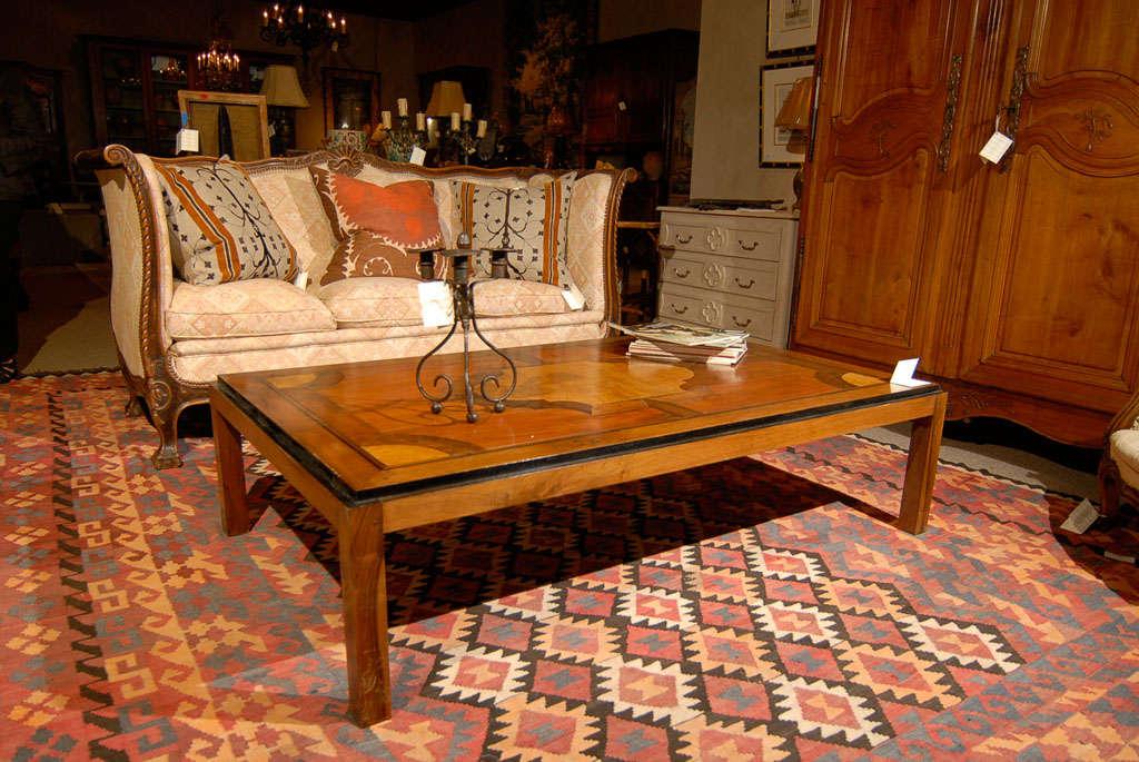 Vintage Parquet Coffee Table 2