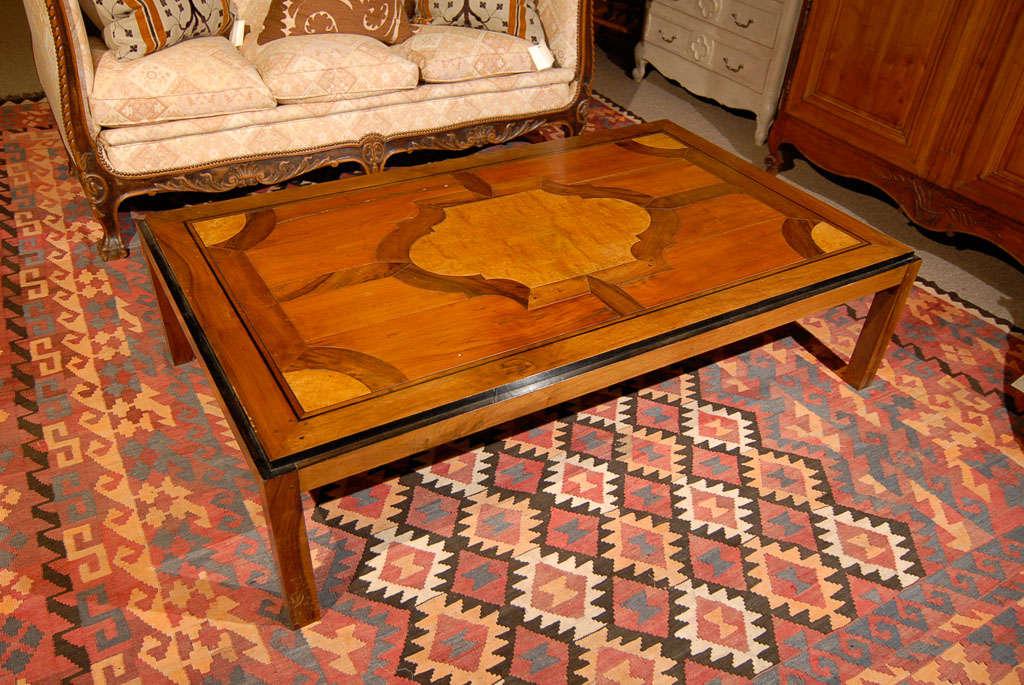 Vintage Parquet Coffee Table 3