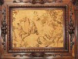 Antique Walnut Mantle image 6