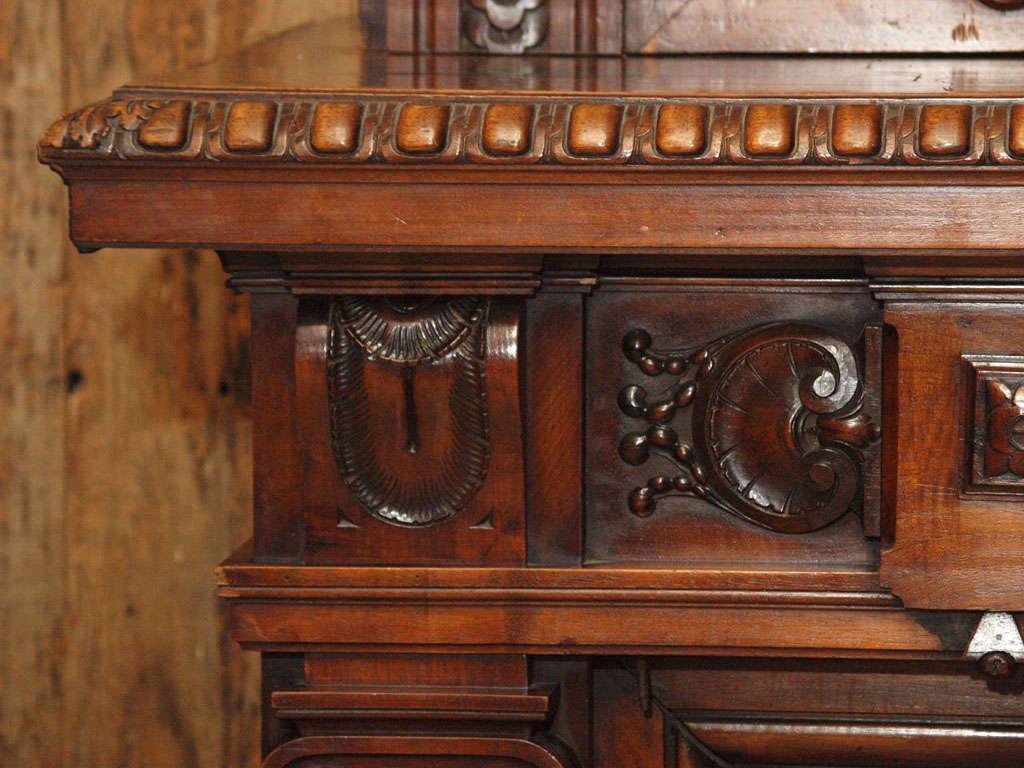 Antique Walnut Mantle 9