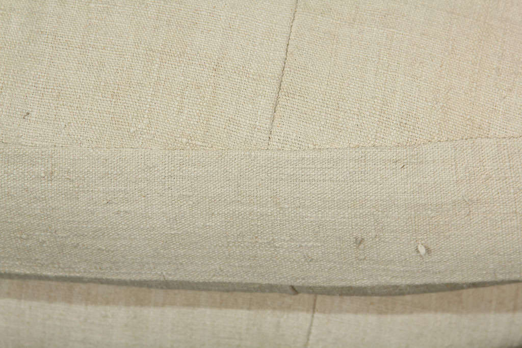 French Linen Loveseat For Sale 2