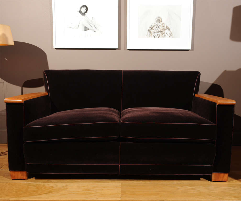 French Jacques Adnet - Sofa For Sale
