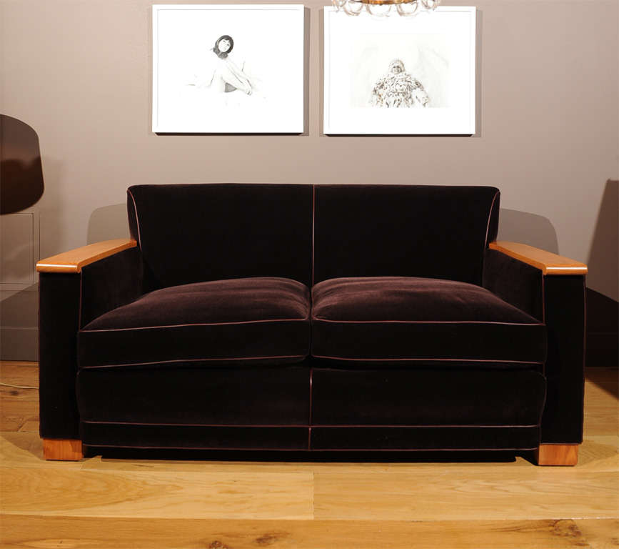 Jacques Adnet - Sofa In Excellent Condition For Sale In San Francisco, CA