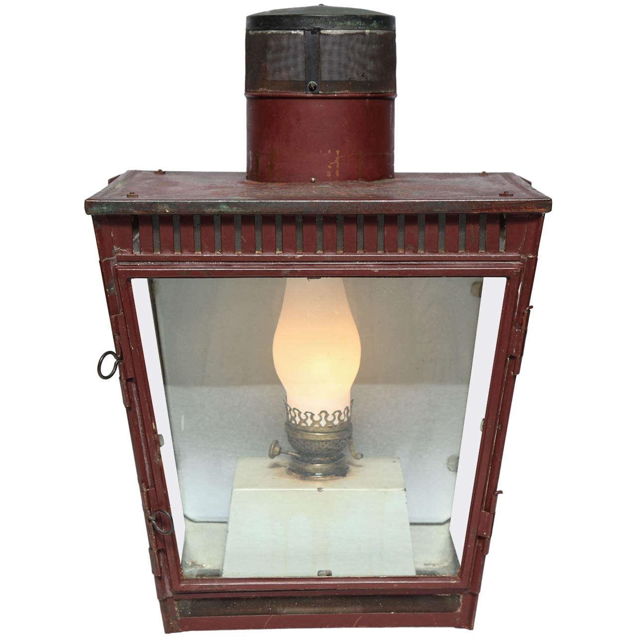 Tin Wall Lantern