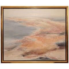 Elegant, Coastal Painting
