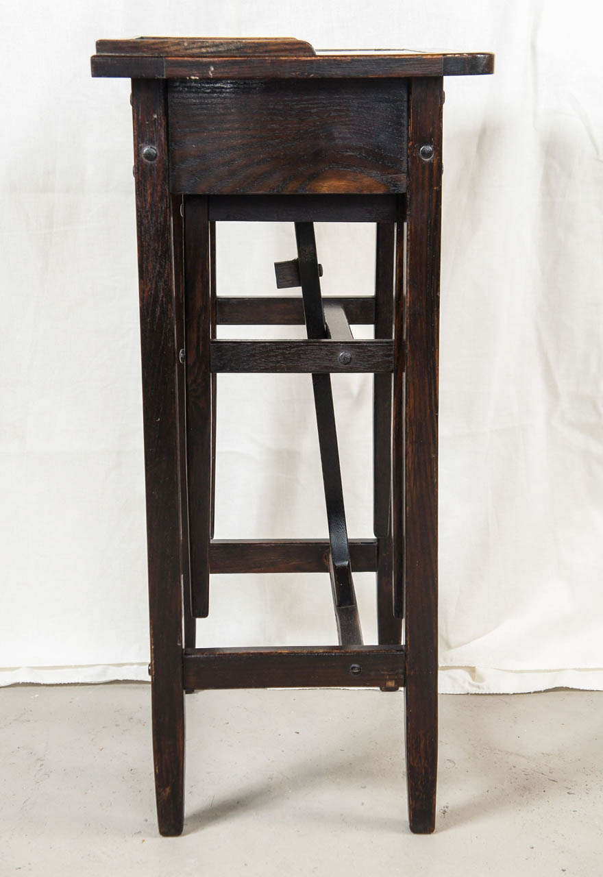 Early Cushman Table With Seat For Sale At 1stdibs