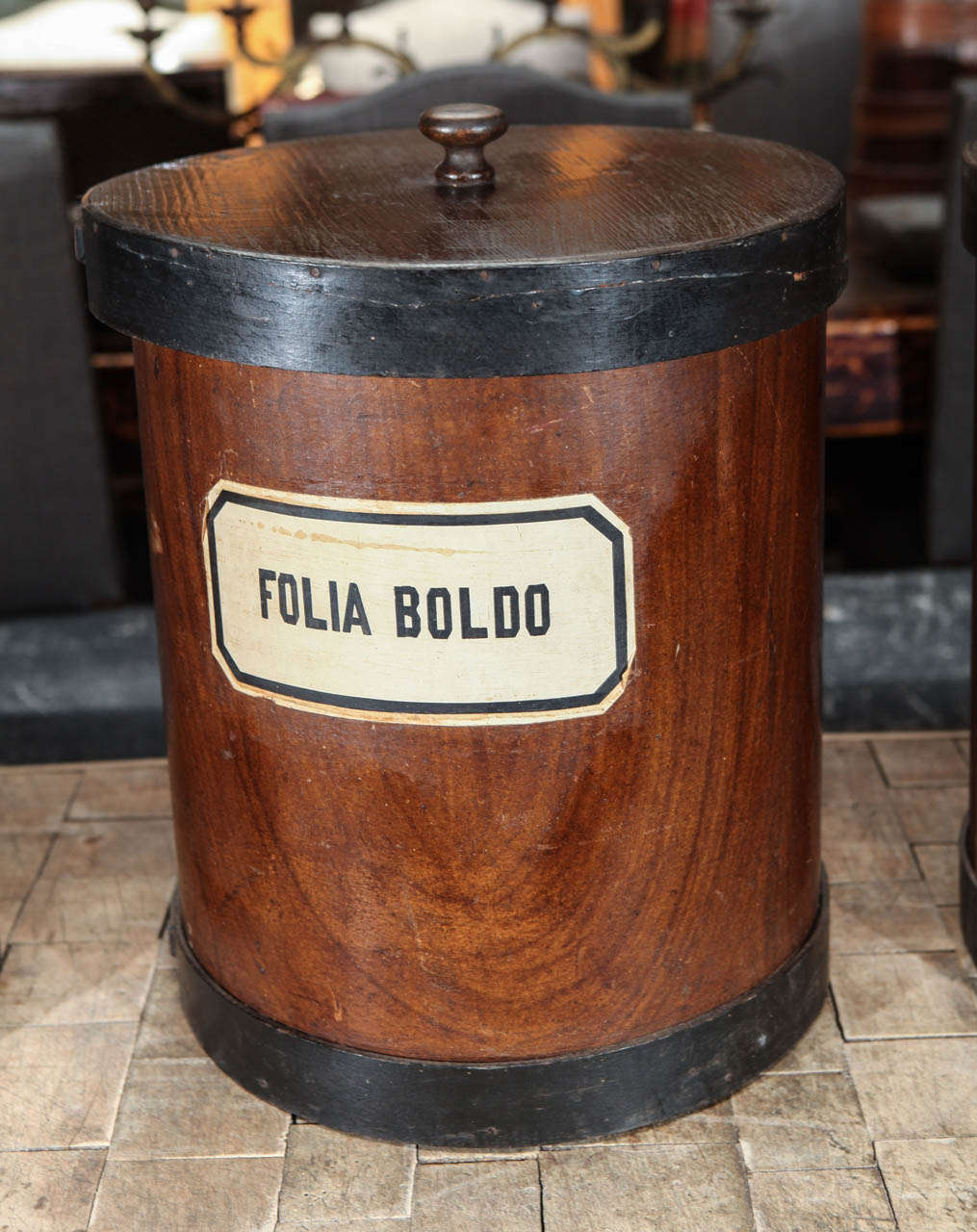 Herb Canister In Good Condition For Sale In Los Angeles, CA