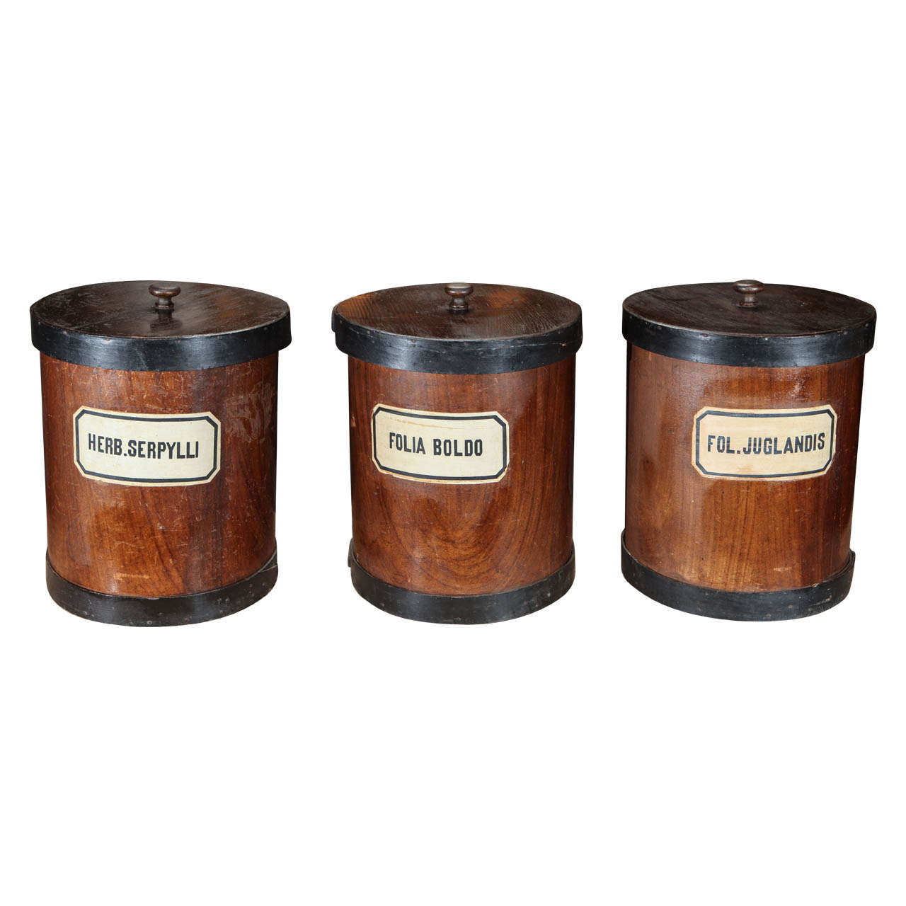 Herb canister, ca. 1880