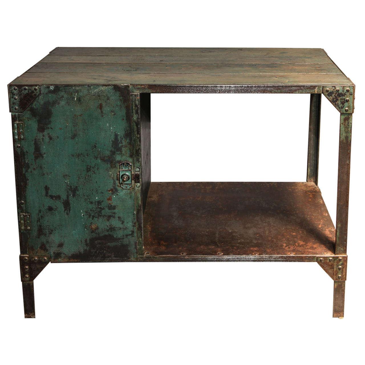 a painted metal sideboard at 1stdibs. Black Bedroom Furniture Sets. Home Design Ideas