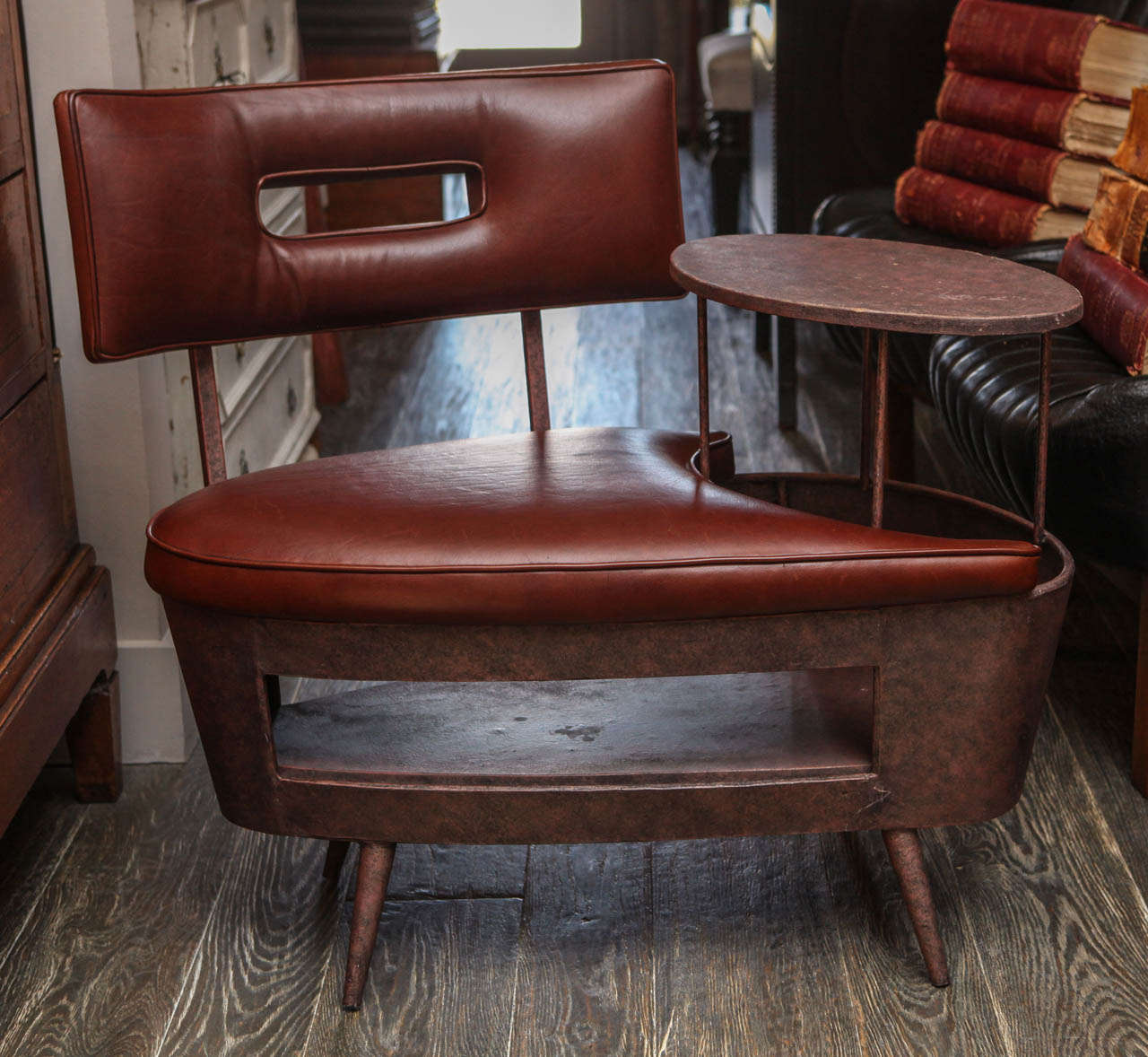 Telephone Chair With Table Combo At 1stdibs
