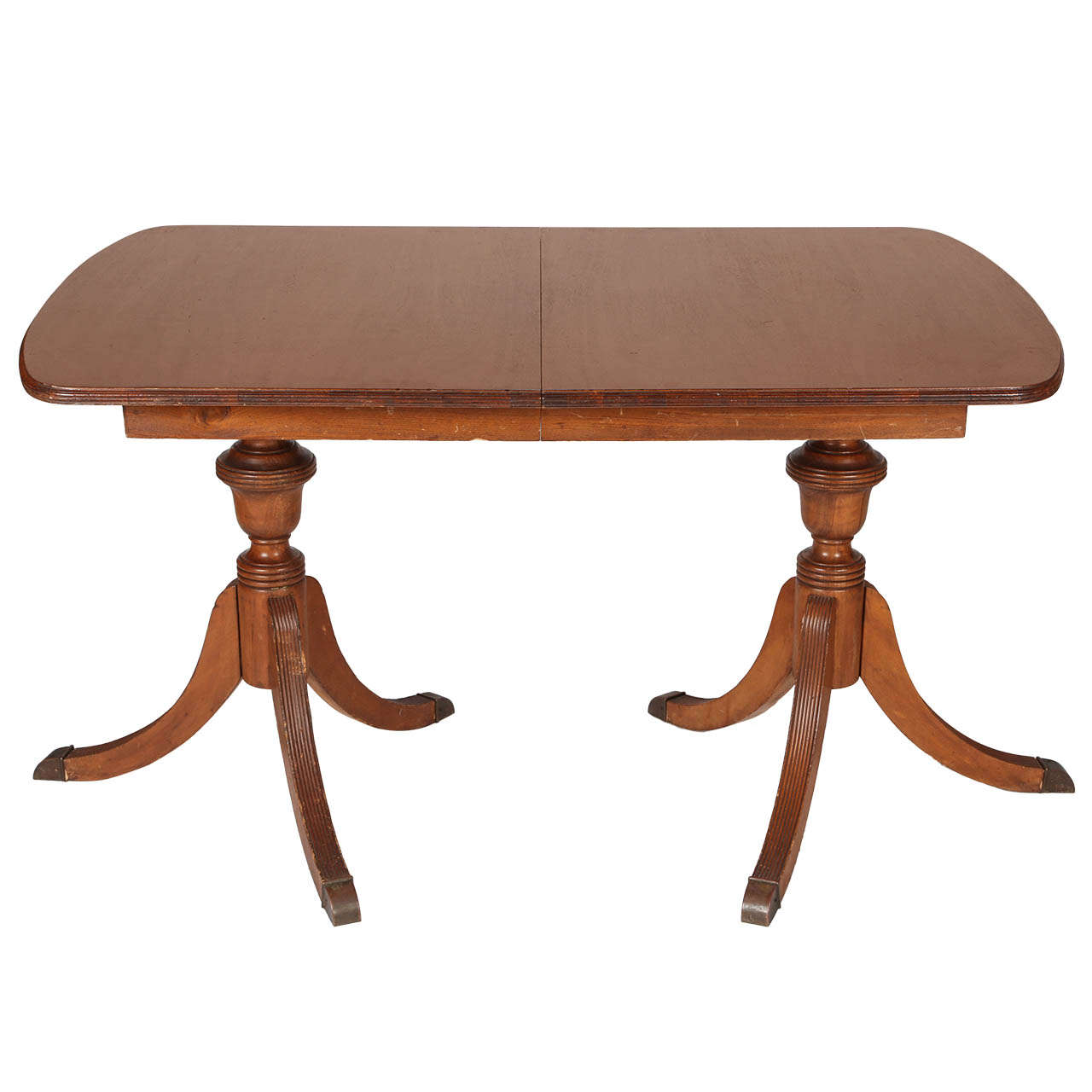 Duncan phyfe style mahogany dining table for sale at 1stdibs for Dining room table styles