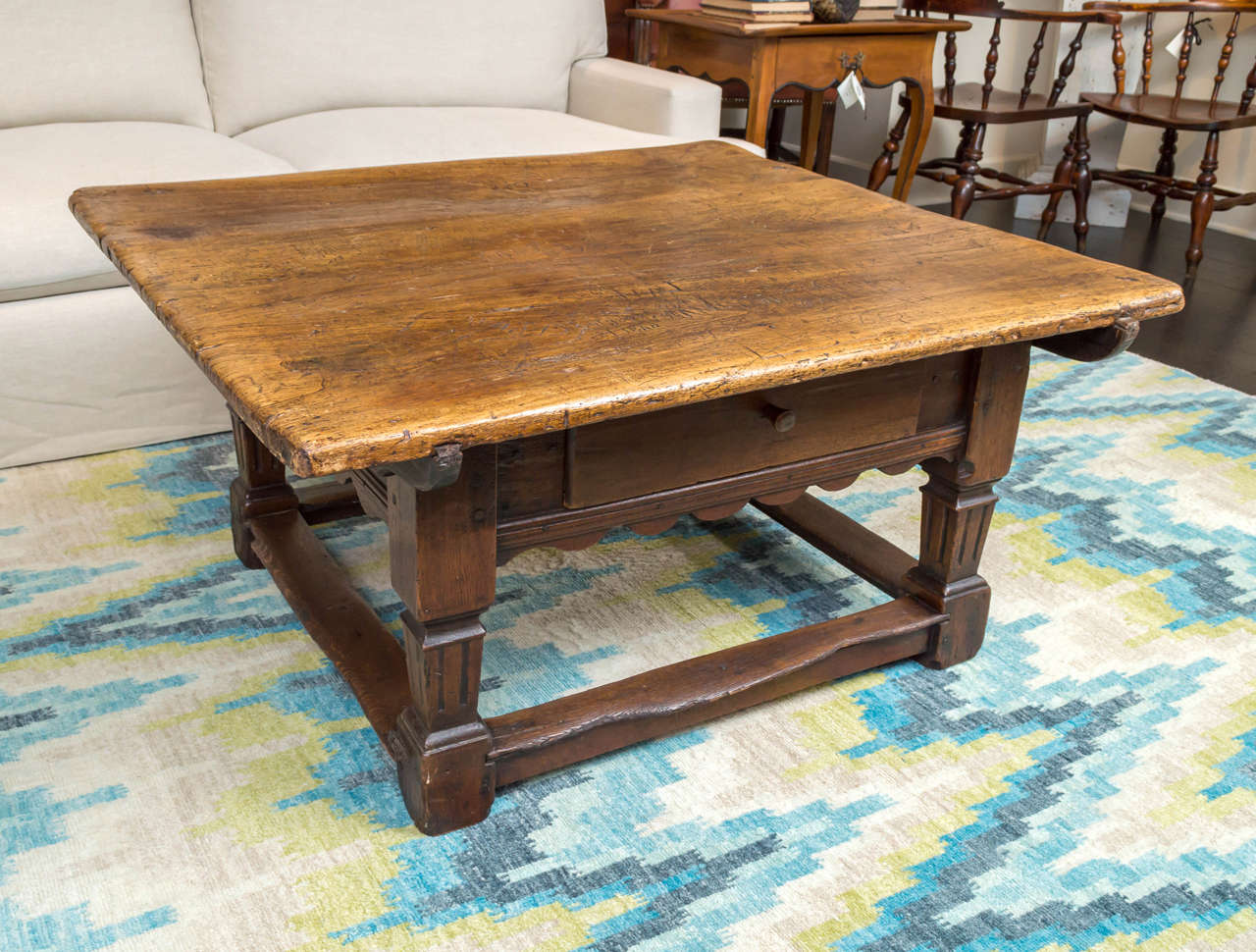 Low Fruitwood And Oak Table Dutch Circa 1870 At 1stdibs