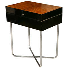 Hungarian Modernist Side/Storage Table