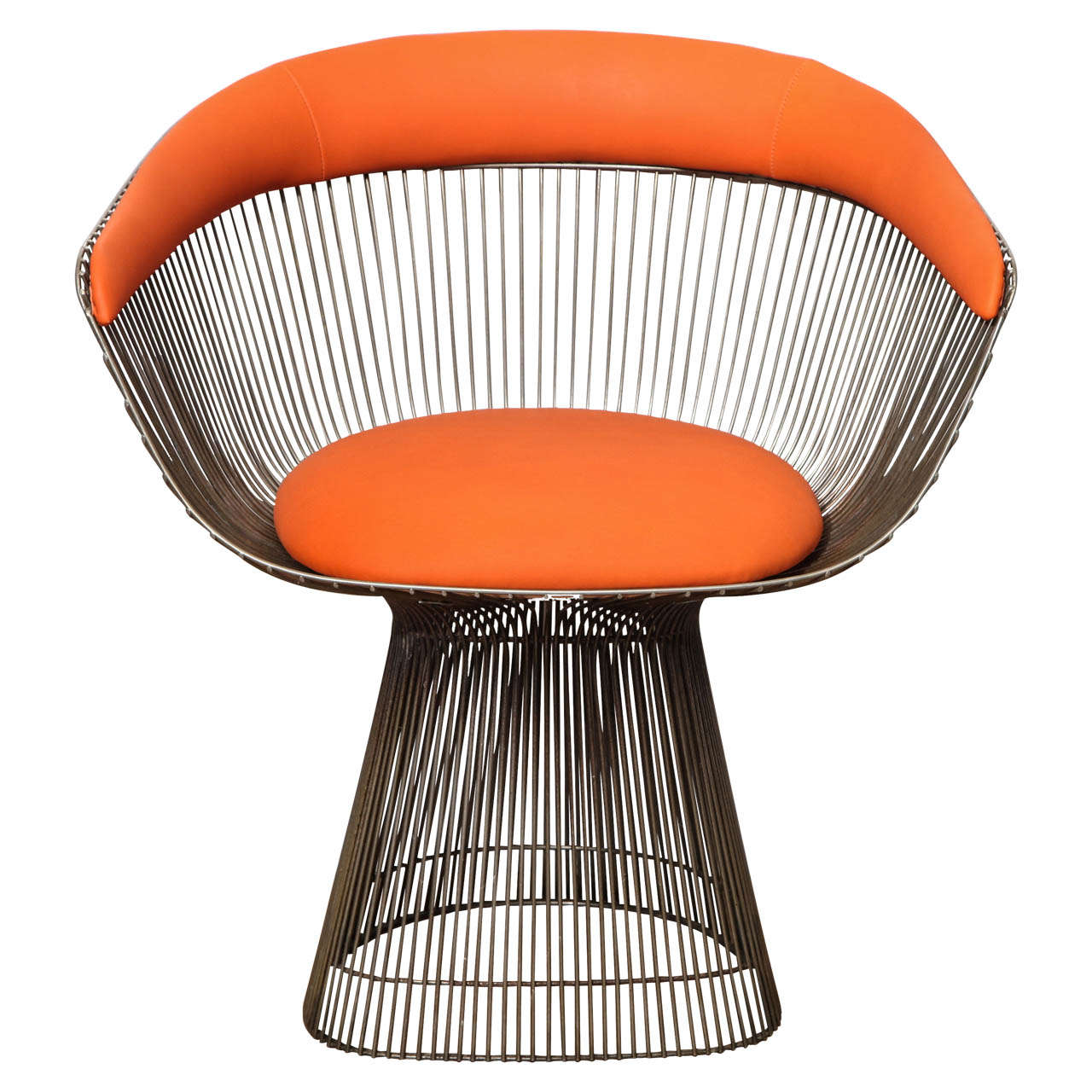 Platner Chair modernist chairwarren platner at 1stdibs