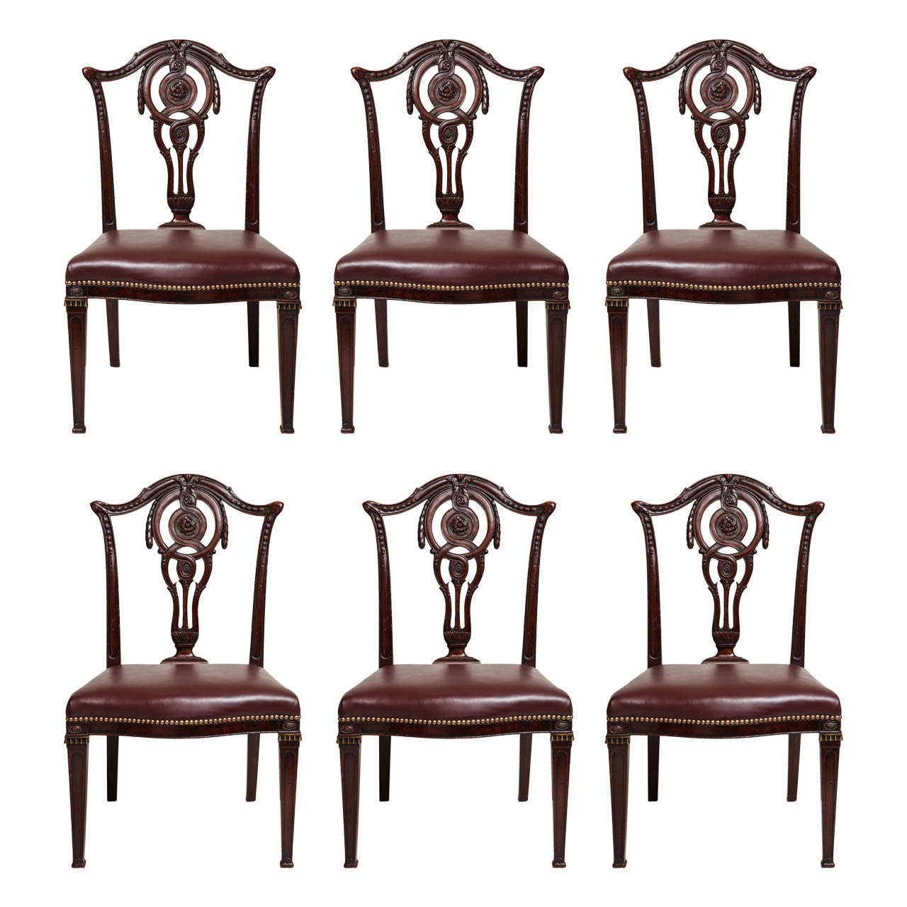 Art Nouveau Dining Room Chairs