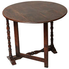 19th Century English Oak Coaching Table